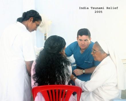india relief trip